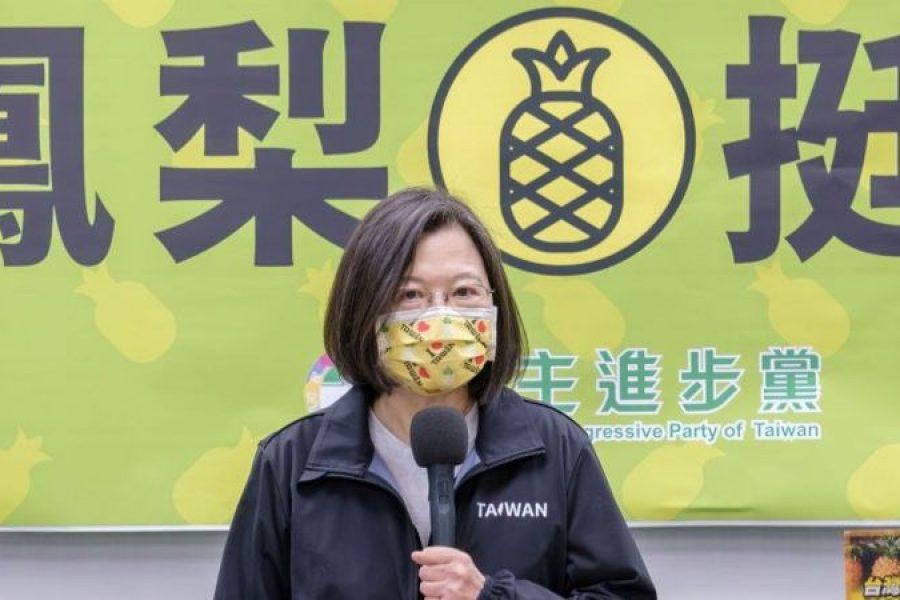 """Una """"guerra de piñas"""" entre China y Taiwán"""